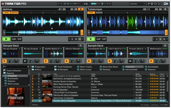 Captura de pantalla de Traktor Pro 2