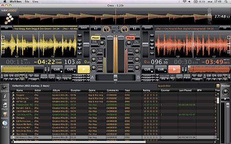Captura de pantalla de Mixvibes