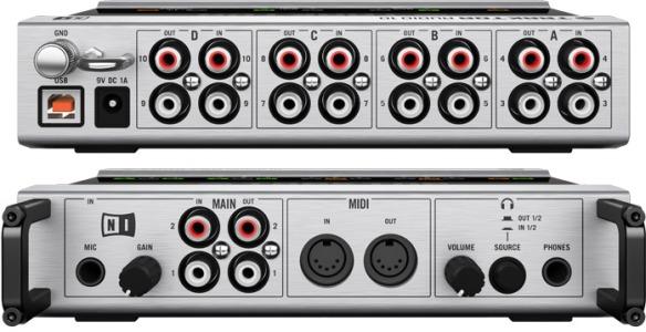 Traktor Audio 10, una de las mejores tarjetas de sonido del mercado.