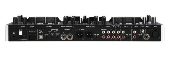 Denon DN-MC6000, con varias entradas auxiliares para conectar reproductores analógicos